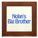 Nolan's Big Brother Framed Tile