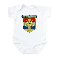 USS Belleau Wood (LHA 3) Infant Bodysuit