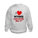 October 1st Sweatshirt