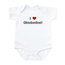 I Love Oktoberfest! Infant Bodysuit