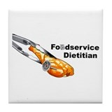 FoodService Dietitian Tile Coaster