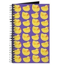 Toy Rubber Duck Pattern Journal