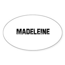 Madeleine Oval Decal