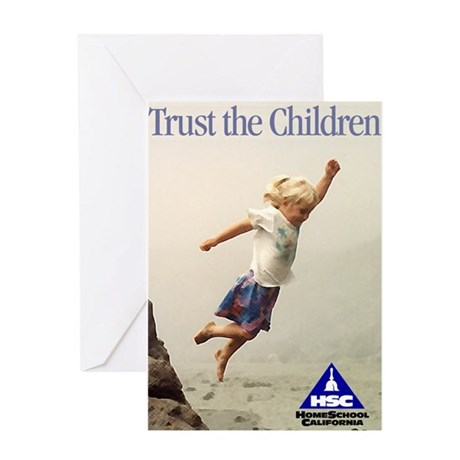 Trust the Children Greeting Card