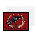 Christmas Crow Greeting Cards (Pk of 10)