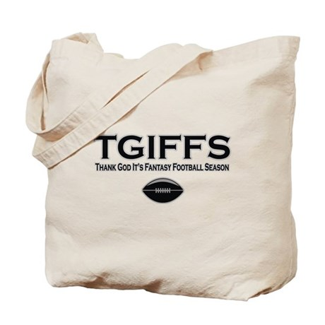 TGIFFS Fantasy Football Seaso Tote Bag