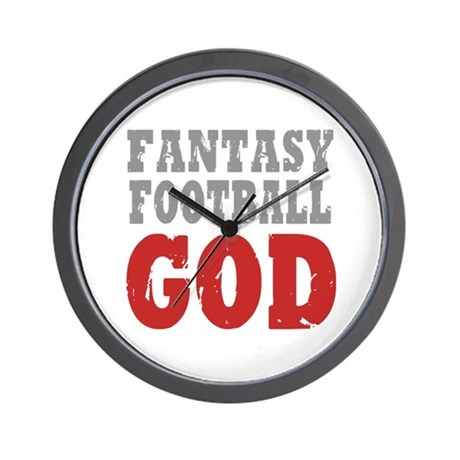 Fantasy Football God Wall Clock