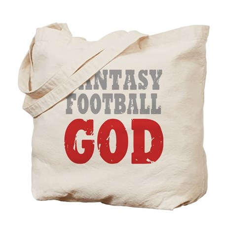 Fantasy Football God Tote Bag