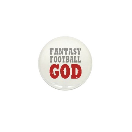 Fantasy Football God Mini Button (10 pack)