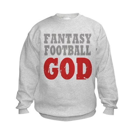 Fantasy Football God Kids Sweatshirt