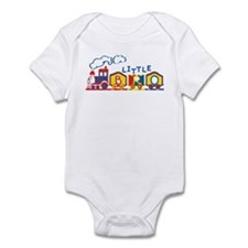 Train Little Bro Infant Bodysuit
