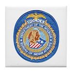 B.I.A. Police Tile Coaster
