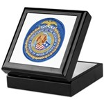 B.I.A. Police Keepsake Box