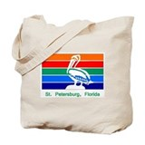 St. Petersburg FL Flag Tote Bag