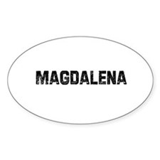 Magdalena Oval Decal