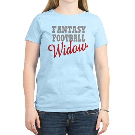 Fantasy Football Widow Women's Light T-Shirt