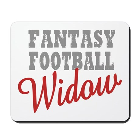 Fantasy Football Widow Mousepad