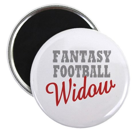 "Fantasy Football Widow 2.25"" Magnet (10 pack)"