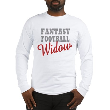 Fantasy Football Widow Long Sleeve T-Shirt