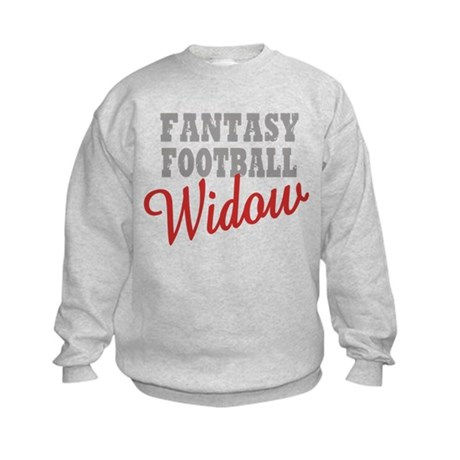 Fantasy Football Widow Kids Sweatshirt