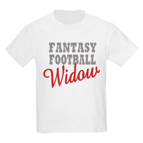 Fantasy Football Widow Kids Light T-Shirt
