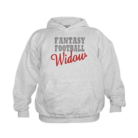 Fantasy Football Widow Kids Hoodie