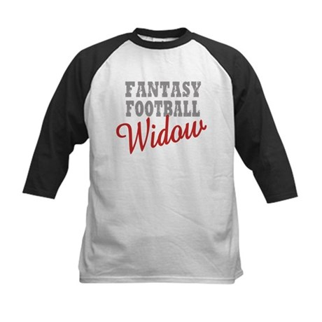 Fantasy Football Widow Kids Baseball Jersey