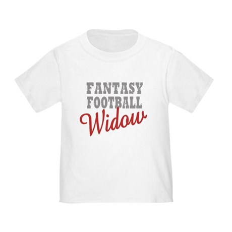 Fantasy Football Widow Toddler T-Shirt