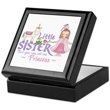 Unicorn Princess Little Sister Keepsake Box