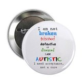 "Autism Acceptance 2.25"" Button"