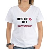 Kiss Me I'm a YOUTH WORKER Shirt