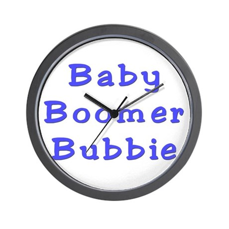 Bubbie the Baby Boomer Wall Clock