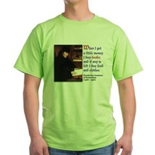 Erasmus on Buying Books T-Shirt