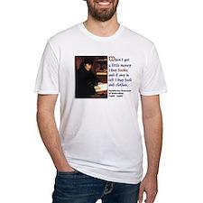 Erasmus on Buying Books Shirt