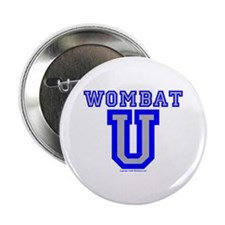 "Wombat U VI 2.25"" Button (10 pack)"