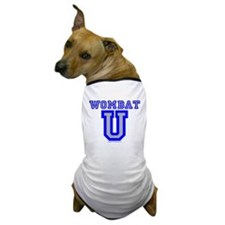 Wombat U VI Dog T-Shirt