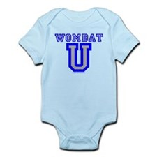 Wombat U VI Infant Bodysuit