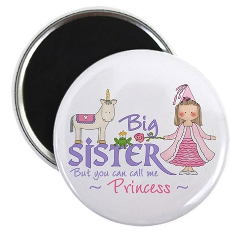 Unicorn Princess Big Sister Magnet