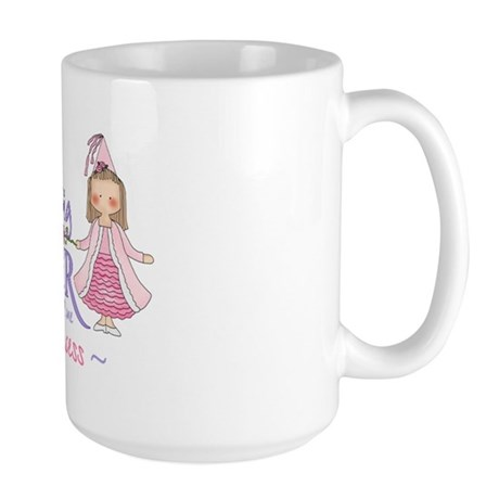 Unicorn Princess Big Sister Large Mug