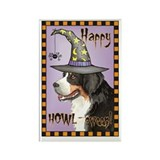 Halloween Berner Rectangle Magnet