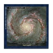 Tile Coaster (Whirlpool Galaxy)