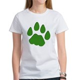 Green Cougar Track Tee