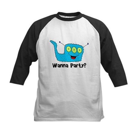 Wanna Party Animal Kids Baseball Jersey