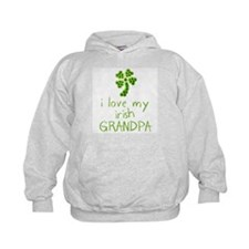 I Love my Irish Grandpa Hoodie