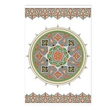 Traditional Motif Eid Postcards (Package of 8)