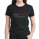 Like Camping Forever Women's Dark T-Shirt