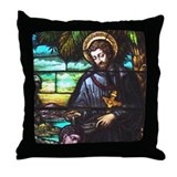 St. Francis Xavier Throw Pillow