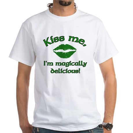 Kiss Me White T-Shirt