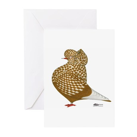 Yellow Teager2 Greeting Cards (Pk of 10)