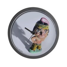 Indian Bobble Head Wall Clock
